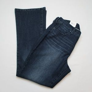 Style & Co Womens Mid Rise Boot Cut Jeans